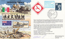 JS/50/40/8 Operation Compass Signed by  William Holland Tobruk 1943