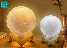 Knight Led Moon Light Lamps Touch Control Adjustable Brightness Rechargeable