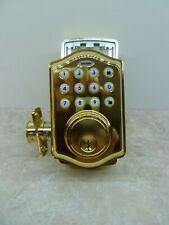 TRU-BOLT ELECTRONIC ENTRY DOOR KNOB WITH KEYPAD