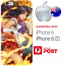iPhone 6 and iPhone 6S Case Cover Sailor Moon Scout Mars Rei Fire Anime Cool AUS