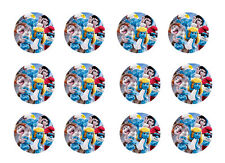 """SMURFS 2 CUPCAKE TOPPERS 12x2"""" EDIBLE ICING PARTY DECORATION IMAGE"""
