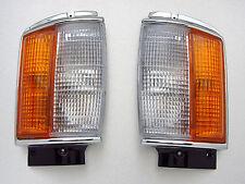 83-88 Toyota Hilux 2WD LN50 mark4 pair chrome corner light NEW