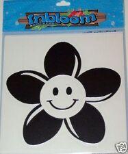 """Happy Face Flower Surf Sticker, 5""""x5"""" surfboard sticker"""