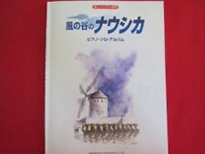 Nausicaa of valley of wind Piano Solo Album Sheet Music Collection Book