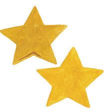 25 Gold Star Wallies Stars Wall Stickers Cutouts Decals Wall Art Instant Border