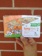 New zealand sphagnum moss 100 Grams long fiber 8 L AA