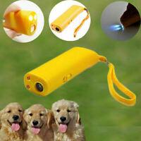 Ultraschall Anti-Stop Bellen Haustier Hund Zug Repeller Control Ger Trainer O7S1