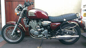 NEW TRIUMPH THUNDERBIRD  SEAT COVER ( HINKLEY) TOP QUALITY BROWN