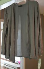 "Womens ""Apt.9"" Rayon/Spandex  Long Sleeve Knit Cardigan Size:  L Petitie *NWT*"
