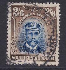 Southern Rhodesia 1924 2/6 blue & sepia sg13