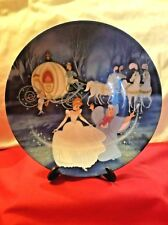 Bibbidi - Bobbidi - Boo Cinderella Plate #6700-F Walt Disney 1988