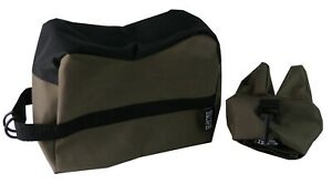 Front & Rear Rifle Air Gun Bench Rest Bag Hunting Target Shooting E1650 Green