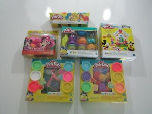 Play-Doh Shapes Playhouse Mickey Minnie Mouse Packs New Sealed
