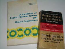 Stern: A Handbook of English-German Idioms and Useful Expressions, & Dictionary