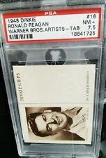 1948 Dinkie Warner Bros (w/tab) Ronald Reagan PSA 7.5 Near MInt +