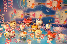 12 HELLO KITTY MINI SWING ZODIAC ZODIACO NUOVE GASHAPON SANRIO SERIE COMPLETA