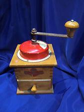 MOULIN A CAFE ANCIEN EN BOIS ET METAL DE MARQUE KYM. REF 1059