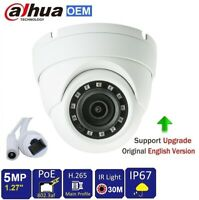 White 2.4MP 1080p Quad-Hybrid AHD//HD-TVI//CVI//960H Eyeball IR Dome Camera 2.8mm