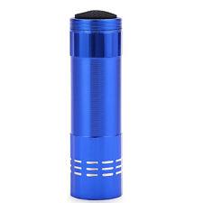 Mini Aluminium UV Ultravlolet LED Taschenlampe Schwarz Licht Fackel Licht Lam