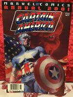 Marvel Comics Captain America 1998 Series Annual 2001 Comic Book