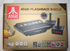 Atari Flashback 8 Gold Classic Game Console Retro 120+ Games w/ 2 Controllers