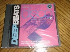 VARIOUS / ESSENTIAL DISCO DANCE FLOOR CLASSICS  VOL. 2 ~ UK Deepbeats CD ~ NEW