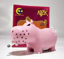 """2"""" Kozik POTAMUS Series - Smoking Hippo Hippopotamus - PINK color"""