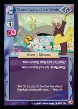 MLP My Little Pony CCG ABSOLUTE DISCORD : Chaos Capital of the World UR 203 FOIL