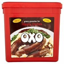 OXO Gravy Granules for Meaty Dishes - 2 x 1.58kg Catering Pack