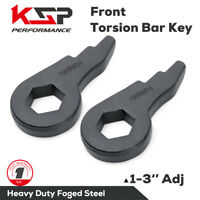 Chevy GMC Torsion Bar Key forged Lift Kit 1-3'' 01-10 1500 2500 3500 HD 8 lug