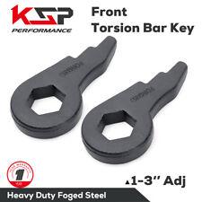 Chevy GMC Torsion Bar Key forged Lift Kit 1-3'' 01-10 1500 2500 3500 HD 8 lug
