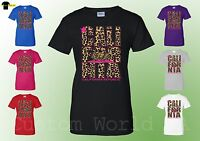 California Republic Leopard Women T Shirt Cali Republic Tee California Bear Shir