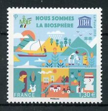 France 2018 MNH UNESCO We Are Biosphere 1v Set Flowers Trees Nature Stamps