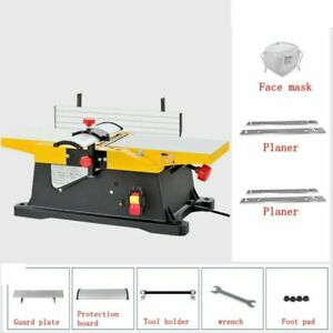 220V 1800W Benchtop Wood Thickness Planer Electric Woodworking Planers 12000rpm