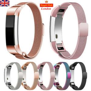 For Fitbit Alta Alta HR Watch Band Strap Loop Magnetic Metal Bracelet Strap UK