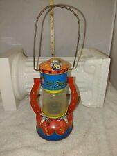 Old Antique Roy Rogers Tin Litho Horseshoe Lantern Vintage