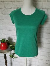 Champion Duo dry women size small gym green athleisure pullover shirt