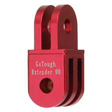 GoTough 20mm Red 90° Extender for GoPro 2 Prong Mount - Aluminum 90° Extension