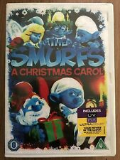 THE SMURFS  ~ CHRISTMAS CAROL ~ 2013 Festive Animated Favourite UK DVD