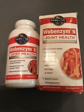 GARDEN OF LIFE WOBENZYM N JOINT HEALTH 800 ENTERIC-COATED TABLETS EXP 06/2021