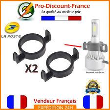 Adaptateur Ampoule LED H7 Pour Peugeot Citroën Ford Support Porte Ampoules
