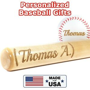 Personalized Baseball Bat, Gift for Birthday, Father's Day, Coach Gift, Graduate