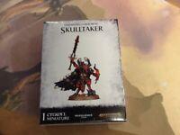 Skulltaker Daemons of Khorne 40K AOS Warhammer Sealed