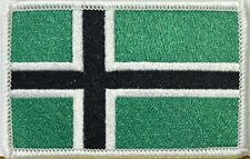 VINLAND FLAG iron-on PATCH TYPE O NEGATIVE VIKING NEW embroidered NORWAY HISTORY