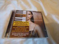 ALICIA KEYS - THE DIARY OF ALICIA KEYS (ORIGINAL 2003 LIMITED EDITION CD / DVD)