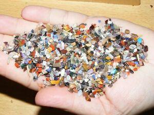 5000 x Mixed XXXSmall Polished Mini Chip Tumblestones A Grade Crystal 1mm-3mm