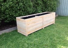 Large 4B Treated Pine Flower Garden Veggie Herb Cafe Rustic Raised Planter box