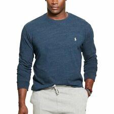 Polo Ralph Lauren Men's Vintage Classic Fit Pony L/S Shirt - Blue/Heather -XXL