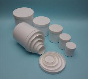 PP Kunststoffdosen mit Schraubdeckel, 65ml bis 1000ml, Vorrat, Kosmetik, Lager