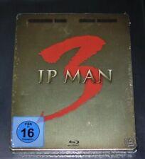 IP Man 3 Limitada Steelbook+Booklet+2 Postales / Pequeño Delle Blu Ray Nuevo